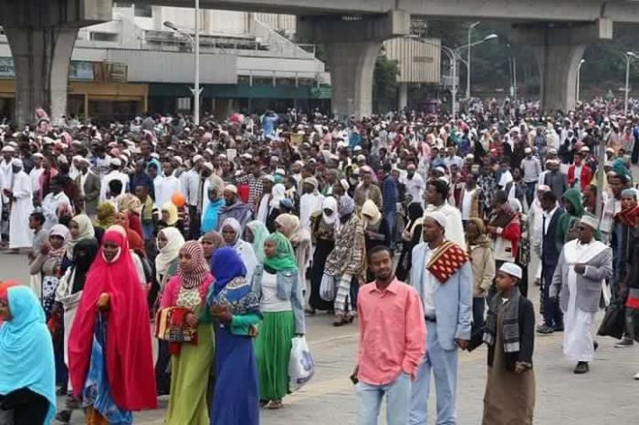 Solat Sunat Aidilfitri di Ethiopia
