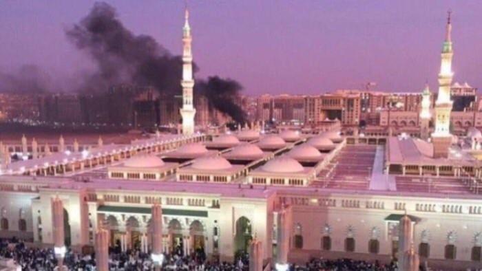 Pengeboman berhampiran Masjid Nabawi