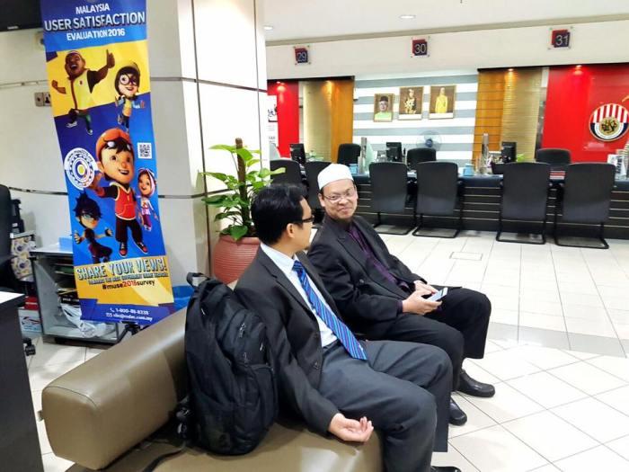 Dr. Zaharuddin di KWSP
